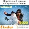 New Новогодний уикенд в Карпатах,  Львов Этнотур